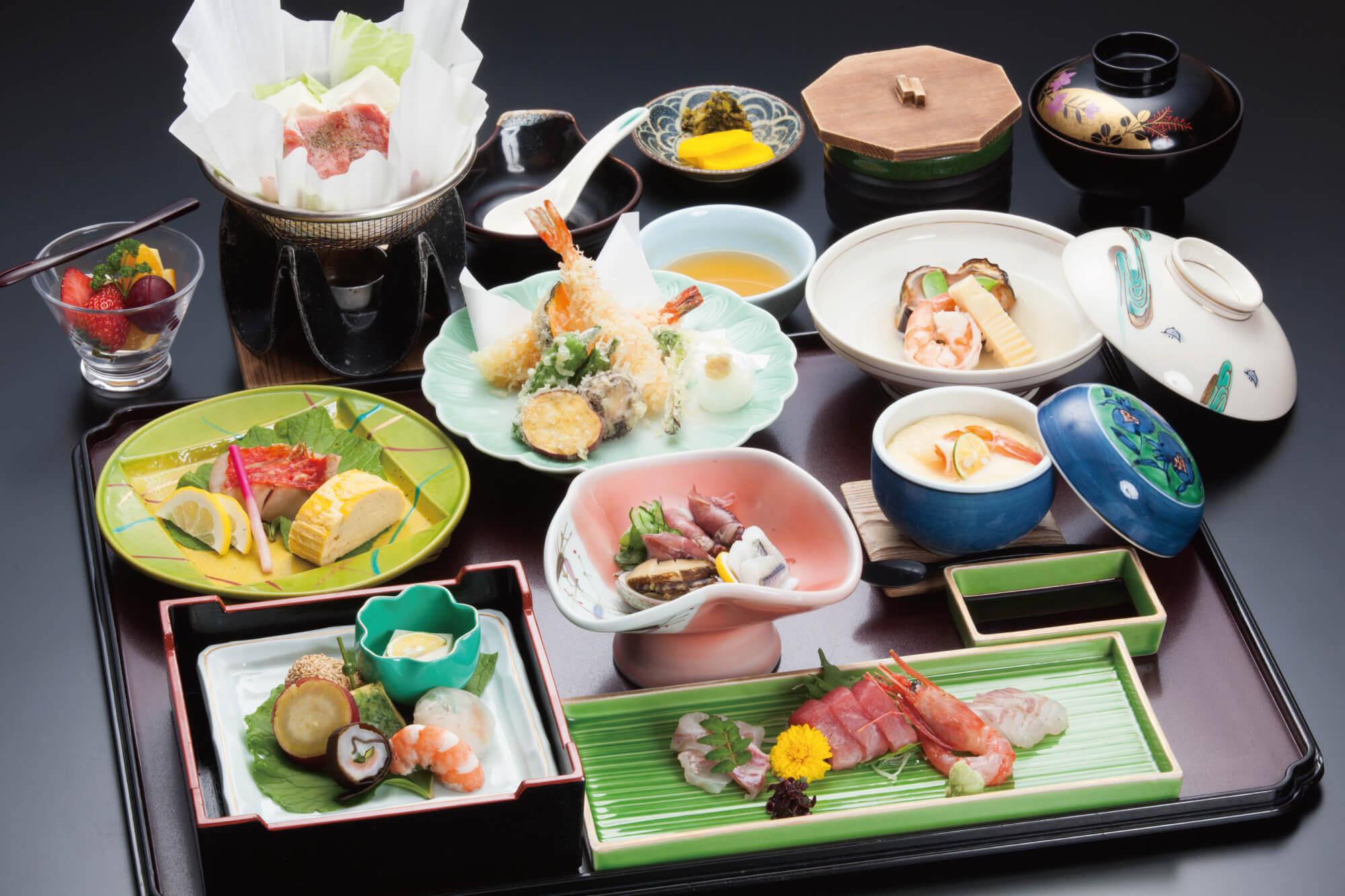 会席料理5,000円